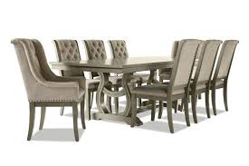 Cleopatra <b>9</b>-<b>Piece Dining</b> Room Set - Oak | Leon's