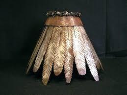 cowhide lamp shades cowhide lamp shade shades custom made iron rawhide by creations studio com 6