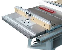 bench dog router table. bench dog 40-031 promax cast iron router table extension for a saw includes fence and insert plate - amazon.com
