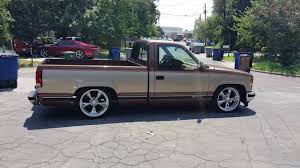 1989 Chevrolet c1500 Silverado lowered 5/7 on torque thrust 2 ...