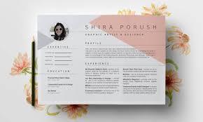 Shira Ink Updated Resume Layout Design Shira Ink