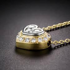 to enlarge photo next bulgari diamond heart pendant 1 bulgari diamond
