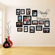 vinyl wall decal picture frames design family memories photos art decor sticker photo frame