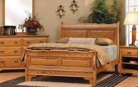 solid oak bedroom furniture sets wall mounted rectangle wooden brown headboard oak laminate bedroom armoire small