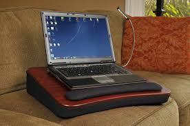 com sofia sam memory foam lap desk with usb light 5035 computers accessories