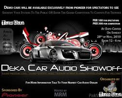 car audio show. mod edit: pakwheels management and members will not be responcible incase of any unfortunate event. car audio show