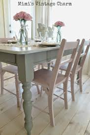 Stone Top Kitchen Table Antoinette Dining Room Chairs French Linen Table Chalk Paintar By