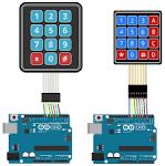 Image result for 4 keypad matrix arduino