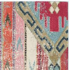 Safavieh Monaco Vintage Bohemian Multicolored Distressed Rug (5'1 x 7'7) -  Free Shipping Today - Overstock.com - 17559057