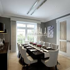 funky dining chairs room eclectic with floor lamp arc metal lamps