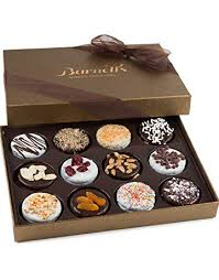 barnett s chocolate cookies gift basket gourmet holiday corporate food gifts in elegant box