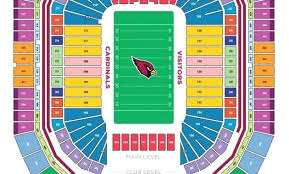 University Of Phoenix Stadium In Glendale Az Seating Chart University Of Phoenix Stadium Seating Chart