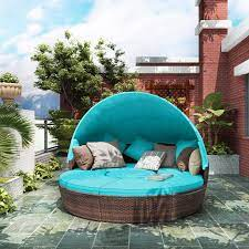 patio furniture round outdoor sectional