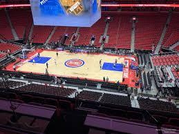 Detroit Pistons Seating Chart Little Caesars Arena Little Caesars Arena Mezzanine 9 Detroit Pistons