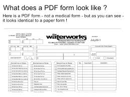 Medical Form In Pdf Interactive Pdf Form Homecare Health