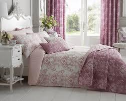 toile duvet set with pillowcase s in pink duvet sets bedding direct uk