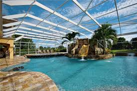 Indoor Pool With Slide Homes For Sale Epic Water Slidescapecoral Beautiful Ideas