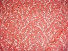 Fabric GORGEOUS JANE SHELTON SAFARI RED UPHOLSTERY FABRIC 1 YARD NEW OLD  STOCK rincondelherraje.com