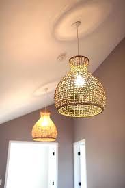 wicker chandelier shades wicker chandelier shades creative wicker hanging lamp shades pottery barn wicker chandelier shades
