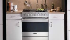 induction range cooktop with oven