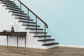 Stairs, Amusingstaircase Railing Designs Staircase Railing Kits Dark Brown  And White Staircase Railing Table With