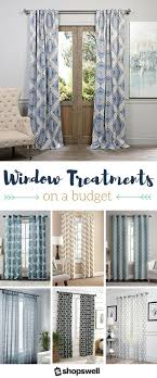 Beach Curtains For Kitchen 17 Best Ideas About Cheap Window Treatments On Pinterest Hang