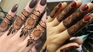Super Simple Henna Designs Super Simple And Easy Fingers Mehndi Design Best Mehndi