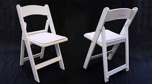 white resin folding chair with padded seat iowa city wedding tables and chairs cover
