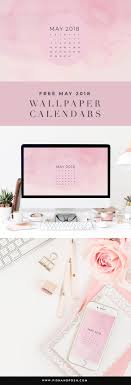 Pish And Posh Design Studio May 2018 Wallpaper Calendar Pish And Posh Designs