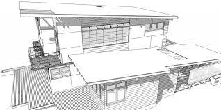 perspective drawings of buildings. Sketch Of Modern House Villa, Terrace And Garden Royalty Free Architectural Drawings Gropius Perspective Drawing Design Buildings