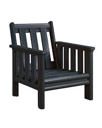 outdoor chairs plastic lumber