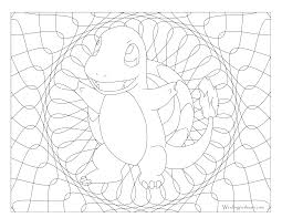 Small Picture 004 Charmander Pokemon Coloring Page Windingpathsartcom