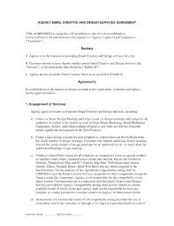 Booking Agent Contract Template Email Marketing Creative By Agency Agreement Advertising And 18