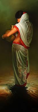 wet woman amit bhar paintings women s and posts