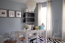 gray home office. View Full Size. My Office - Home With Blue Gray Paint C