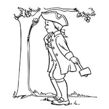 Small Picture 10 Best George Washington Coloring Pages For Toddlers