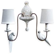 wall sconce ideas bedside table french country wall sconces cottage decorating inspired