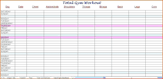work out schedule templates workout schedule template slightlyaltered info