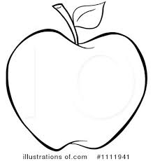 apple clipart black and white. clipart picture of an apple 03 black and white e