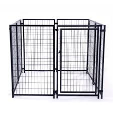 aleko 5 x5 x4 dog kennel heavy duty pet playpen dog exercise