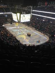 Bud Light Level Bridgestone Arena Nosebleed Seats But Still A Great View Last Night