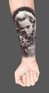 сделать татуировку девушка на предплечье в городе санкт петербург