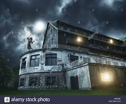 Image result for spooky girl and spooky house images