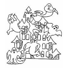 Small Picture Top 25 Free Printable Haunted House Coloring Pages Online