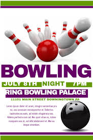 Bowling Event Flyer Bowling Flyer Template Postermywall