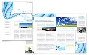 free newsletter templates for word free environmental newsletter template renewable energy consulting