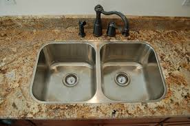 how to install top mount sink on granite countertops ideas