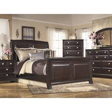 Sleigh Bed Bedroom Sets Signature Design By Ashley Ridgley Sleigh Customizable Bedroom Set