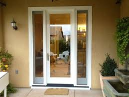 Single Patio Door With Venting Side Lights sg2015