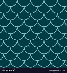 Mermaid Tail Pattern Delectable Mermaid Tail Seamless Pattern Royalty Free Vector Image